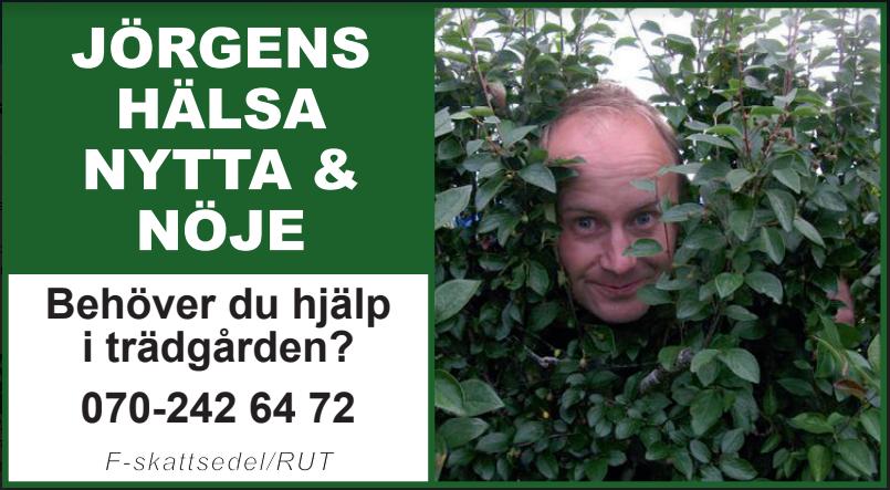 Behöver du hjälp i trädgården?